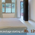 Ganga Suite having two large interconnected rooms tariff R's 15000 plus taxes