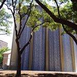 Waterwall in park