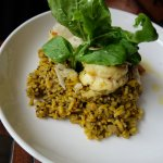 Truffled squid & prawn risotto
