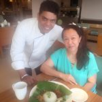 "Chef Aniket Das request to have photo for remembrance of from who he learn how to cook ""Nasi Lem"