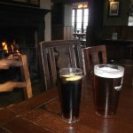A well deserved refreshment and warm welcome at the Inn