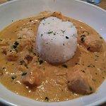 Thai Panang seafood curry