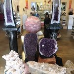 The energy from this collection of very large crystal is incredible