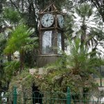 Clock in the gardens