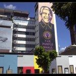 The Nelson Mandela painting