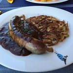 sausage and rosti