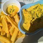 plat du jour : poulet curry-lait de coco