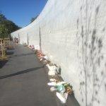 New Earthquake Memorial Wall.
