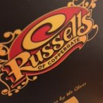 Russell's of Coppergate menu