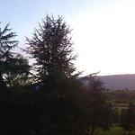 autre vue sur le massif montagneux depuis le restaurant de l'hôtel