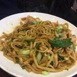 shrimps noodles