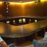 Inside the Cabinet Room (with sound-proofed door)
