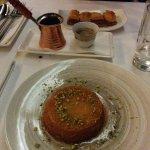 Divine desserts and Arabic coffee