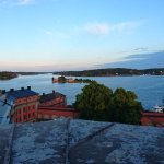View from the roof of Kastellet.