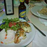 Lion Fish special - yummmmmmm!