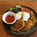 Corn fritter special