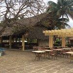 Lunch bar area