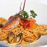 Spaghettis au Homard du Vivier