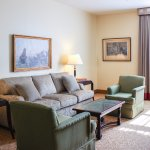 Our king suites feature large living rooms
