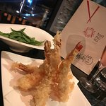 Perfect prawn tempura