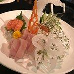Wonderful sashimi and amazing food art