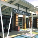 TAHONA Kitchen + Bar is located under the canopy at Summit Park