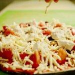 La pizza au Feta en table d'hôte