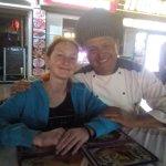 The Chef at Mama Pinos