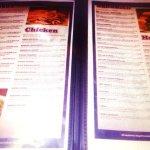 Varied menu