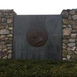 front of memorial