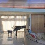 Frank Sinatra House taken Through Window