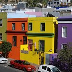 View of the Bo-Kaap from our small balcony.
