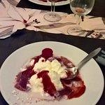 Le dessert !!! préparé dans la nuit
