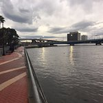 Looking West from the Double Tree on Jacksonville River Walk