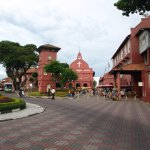 Dutch Square in all its spendour.. I love Malacca during thge week.. no hustle and bustle.