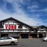 View of Von's from parking lot