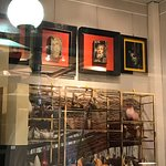 """Each shop owner had a different theme...this one was basically """"chickens"""". Stuffed, ceramic, etc"""