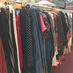 Racks and racks and racks of vintage clothing!