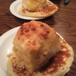 Garlic Cheese Biscuit and Hoe Cake