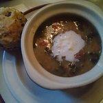 Colcannon soup - St. Patricks menu