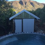 Karoo sauna and plunge pool