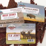 We make Buffalo, Elk and Beef Jerky onsite in our USDA meat plant.