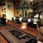 Cosy bar open from 6pm every day