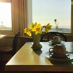 Breakfast included, with stunning views of the sea