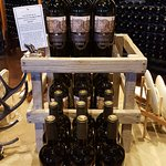Beautiful displays of the wine throughout