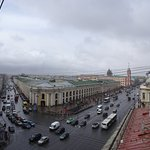 View from Carl Bulla's museum