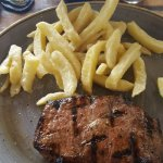 Loved the rump steak and chips - and only R60!