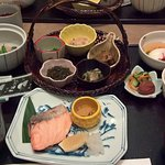 The traditional Japanese breakfast that was included in the stay was outstanding.