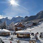 Kranjska gora by winter