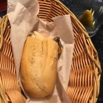 I was disappointed when my meal came to the table there was a basket of bread instead of cornbre